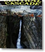 Central Cascade Bridge View Metal Print