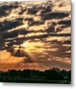 Central Florida Sunrise Metal Print