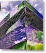 Central Library  Seattle Metal Print