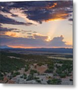 Central New Mexico Sunset Metal Print