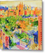 Central Park From The Carlyle Metal Print