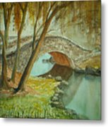 Central Park Overpass Metal Print