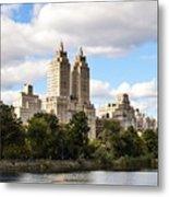 Central Park Reservoir  Metal Print