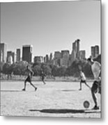 Central Park Metal Print by Robert Lacy