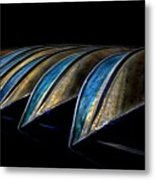 Central Park Row Boats 2 Metal Print