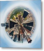 Eye Of New York Metal Print