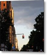 Central Park West 7524 Metal Print by PhotohogDesigns