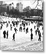 Central Park Winter Carnival Metal Print