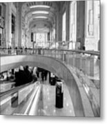 Central Station Milan 2 Metal Print