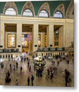 Central Station New York  Metal Print