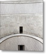 Central Tower With Skylight Cross And Names Of The Interred At T Metal Print