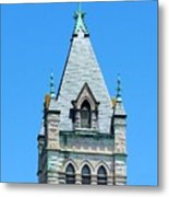 Central United Methodist Church Of Asheville Nc Metal Print