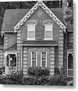 Century Home - Bw Metal Print