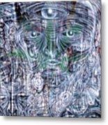 Cephalic Carnage Metal Print