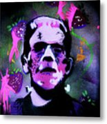 Cereal Killers - Frankenberry Metal Print