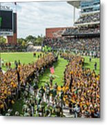 Ceremonial Running Of The Baylor Line Metal Print