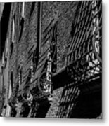 Cesena In Black And White Metal Print