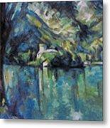Cezanne: Annecy Lake, 1896 Metal Print