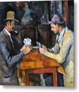 Cezanne: Card Player, C1892 Metal Print