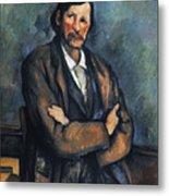 Cezanne: Man, C1899 Metal Print