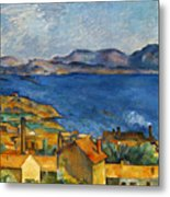 Cezanne Marseilles 1886-90 Metal Print