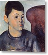 Cezanne: Portrait Of Son Metal Print
