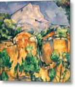 Cezanne: Sainte-victoire Metal Print
