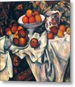 Cezanne: Still Life, C1899 Metal Print
