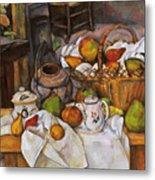 Cezanne: Table, 1888-90 Metal Print