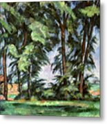 Cezanne: Trees, C1885-87 Metal Print