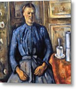Cezanne: Woman, 1890-95 Metal Print