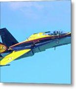 Cf-18 Hornet Metal Print