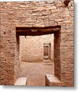 Chaco Canyon Doorways 2 Metal Print