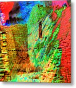 Chaco Culture Abstract Metal Print