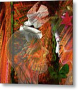Sunlight On My Face Metal Print