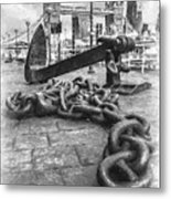 Chain And Anchor, Southwark Metal Print