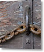 Chain And Grain Metal Print
