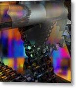 Chain And Sprockets - Amcg -  Macro 13 30 X 20 Metal Print