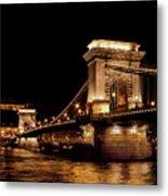 Chain Bridge - Budapest Metal Print