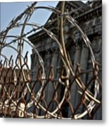 Chained Ruins II Metal Print