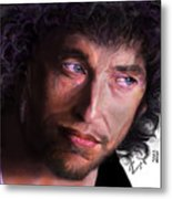 Chained To The Sky -  Bob Dylan  Metal Print