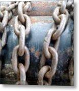 Chains Metal Print