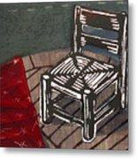 Chair II Metal Print
