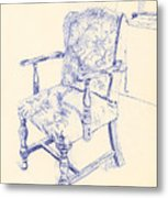 Chair Metal Print