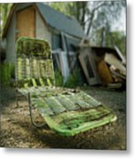 Chaise Lounge Metal Print