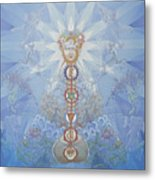 Chakras And Elements Metal Print