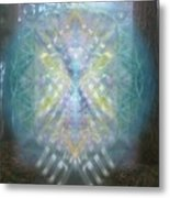 Chalice-tree Spirit In The Forest V1 Metal Print