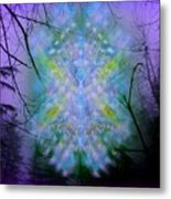 Chalice-tree Spirit In The Forest V1a Metal Print