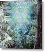 Chalice-tree Spirit In The Forest V3 Metal Print