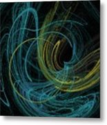 Chalk Outline Metal Print by Mike Turner